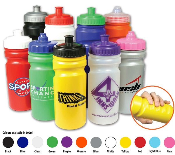 500ml Grip Sports Bottle